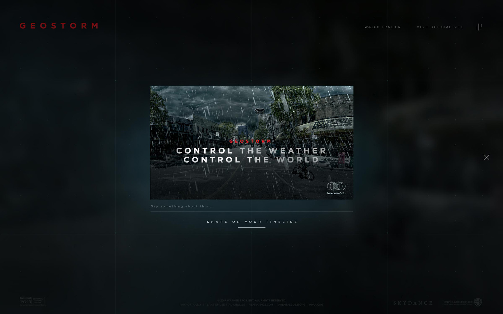 Control The Weather