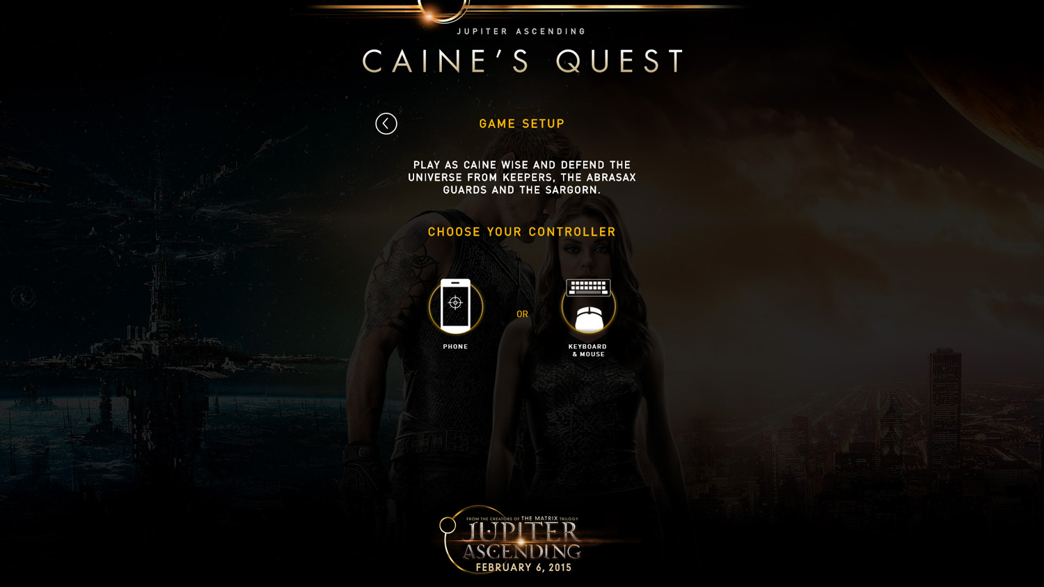 Caine's Quest